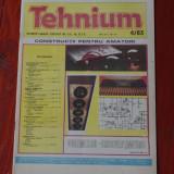 Revista Tehnium - anul XIII -  ( nr 149 ) - nr 4 din 1983 !!!