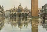 Carte postala IT006 Italia - Venezia - Piazza San Marco con acqua alta -  necirculata [5]