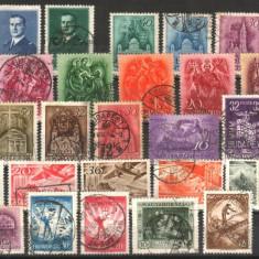 UNGARIA - de la 1933, circulate, MH, Nestampilat