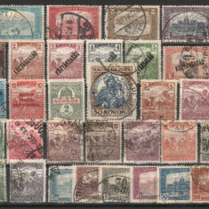 UNGARIA - dupa 1918, circulate, MH, Nestampilat