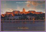 Carte postala Ungaria HU009 Budapesta - Castelul Buda - necirculata  [4]