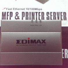 USB MFP Printer Server Edimax PS-1206MF 10/100 - Print server