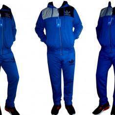 Trening Adidas pentru barbati cu gluga! - Trening barbati Adidas, Marime: S, Culoare: Turcoaz, Bumbac