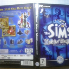 Joc PC - The Sims - Making Magic - Extension pack - (GameLand - sute de jocuri) - Jocuri PC Electronic Arts, Simulatoare, 12+, Single player