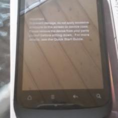 Htc Desire S impecabil la cutie - Telefon mobil HTC Desire S, Negru, Neblocat