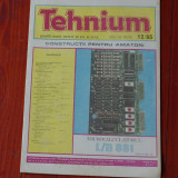 Revista Tehnium - anul XV -  ( nr 181 ) - nr 12 din 1985 !!!