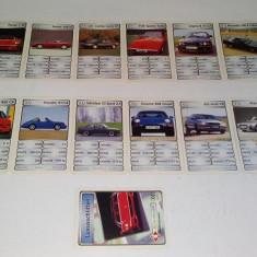 Lot 32 +1 cartonase de colectie ilustrand masini de lux, perioada anilor '80 - Colectii