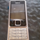 NOKIA 6300 ARGINTIU / FOLIE ECRAN / LIFETIMER 00 / LIVRARE CURIER/POSTA - Telefon mobil Nokia 6300, Neblocat