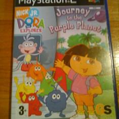 JOC PS2 DORA THE EXPLORER - JOURNEY TO THE PURPLE PLANET ORIGINAL PAL / STOC REAL in Bucuresti / by DARK WADDER - Jocuri PS2 Altele, Actiune, 3+, Single player