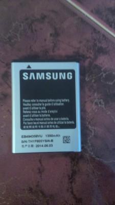 Acumulator Samsung Galaxy Pro B7510  WAVE EB494358VU nou original foto