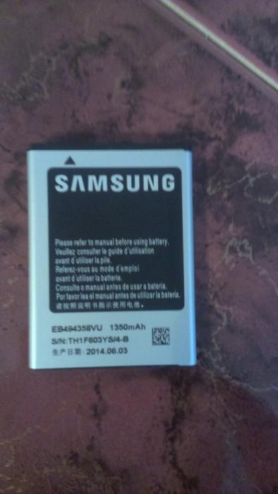 Acumulator Samsung Galaxy Pro B7510  WAVE EB494358VU nou original foto mare