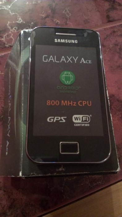 Samsung Galaxy ace s5830 s5830i nou in cutie /  necodat / negre sau albe