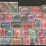 UNGARIA - 1921-1931, circulate, MH, Nestampilat