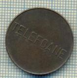 JETON 285 PENTRU COLECTIONARI - CONTROL - TELEFOANE  -STAREA CARE SE VEDE