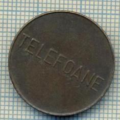 JETON 285 PENTRU COLECTIONARI - CONTROL - TELEFOANE -STAREA CARE SE VEDE - Jetoane numismatica