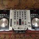 2x Pioneer CDJ 200  + BEHRINGER PRO VMX200