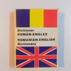 DICTIONAR ROMAN - ENGLEZ, ROMANIAN - ENGLISH DICTIONARY de ANDREI BANTAS, 2000 - Carte in alte limbi straine