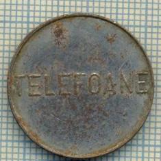 JETON 286 PENTRU COLECTIONARI - CONTROL - TELEFOANE -STAREA CARE SE VEDE - Jetoane numismatica