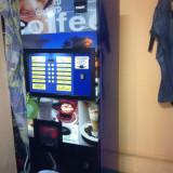 automat cafea zanussi necta vending boabe