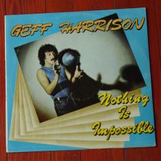 Disc vinil ( vinyl , pick-up ) - Geff Harrison - Nothing is impossible !!!