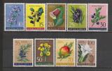 Iugoslavia.1959 Flori  SI.306, Nestampilat
