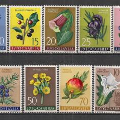Iugoslavia.1959 Flori SI.306 - Timbre straine