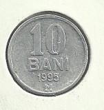 MOLDOVA  10 BANI 1995   [2]   livrare in cartonas, Europa, Aluminiu