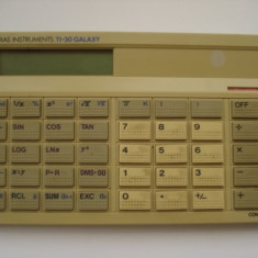 Calculator Vintage - Texas instruments TI-30 GALAXY - Calculator Birou
