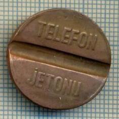 JETON 276 PENTRU COLECTIONARI - PTT(POSTA-TELEFON-TELEGRAF) - TELEFON -JETONU - TURCIA -STAREA CARE SE VEDE - Jetoane numismatica