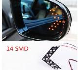 Set pereche semnale universale oglinda 14 SMD LED Audi Mercedes BMW Skoda VW