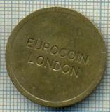 JETON 284 PENTRU COLECTIONARI - EUROCOIN LONDON  -STAREA CARE SE VEDE
