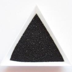 Nisip decorativ pentru modele unghii de culoare Negru, la 15 gr - Model unghii