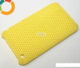 Husa perforata iPhone 3G 3Gs galbena