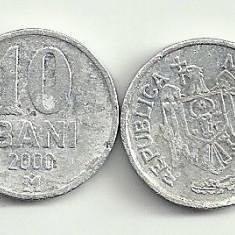 MOLDOVA 10 BANI 2000 [3] livrare in cartonas, Europa