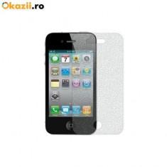 Folie diamond iPhone 4 4s - Folie de protectie Apple, Anti zgariere