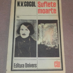 SUFLETE MOARTE N.V.GOGOL - Roman