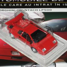 Automobile de vis - TEST- Lamborghini Countach 1/43 - Macheta auto