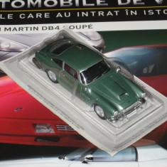 Automobile de vis - TEST- Aston Martin DB4 Coupe 1/43 - Macheta auto