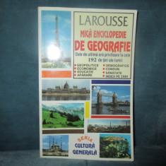 LAROUSSE MICA ENCICLOPEDIE DE GEOGRAFIE