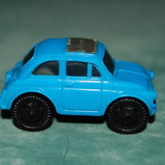 Jucarie figurina masinuta din ou Kinder Surprise, albastru, 4 cm, plastic, - Vehicul