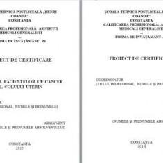 LUCRARE DE LICENTA A.M.G. - INGRIJIREA PACIENTEI CU CANCER AL COLULUI UTERIN ( + PREZENTARE POWER POINT)