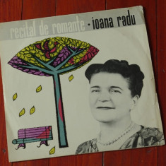 Disc vinil ( vinyl , pick-up ) - Ioana Radu - Recital de romante !!!