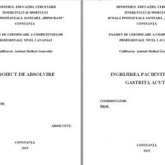 LUCRARE DE LICENTA A.M.G. - INGRIJIREA PACIENTUI CU GASTRITA ACUTA (+ prezentare PP) (1)