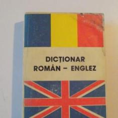 DICTIONAR ROMAN - ENGLEZ, EDITIA A VI -A de ANDREI BANTAS, 1993 - Carte in alte limbi straine