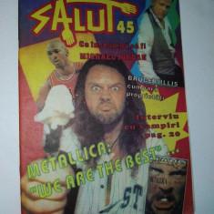 Revista Salut - articol Metallica :
