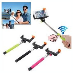 Selfie Monopod bluetooth wireless cu buton pe maner - Selfie stick