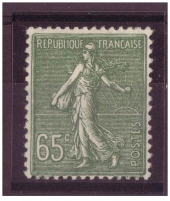 FRANTA 1925 - SEMANATOAREA NESTAMPILAT foto