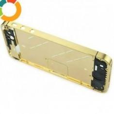 Carcasa mijloc rama metalica iPhone 4 auriu mat