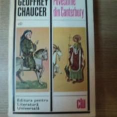 POVESTIRILE DIN CANTERBURY de GEOFFREY CHAUCER, 1969 - Roman