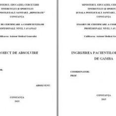 LUCRARE DE LICENTA A.M.G. - INGRIJIREA PACIENTULUI CU ULCER DE GAMBA